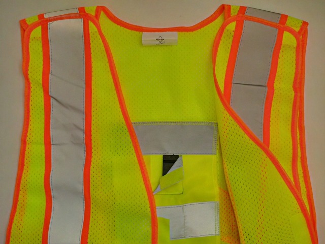 API XXL washable yellow BREAKAWAY Vest - BUZZER